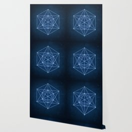 Sacred geometry / Minimal Hipster Symbol Art Wallpaper