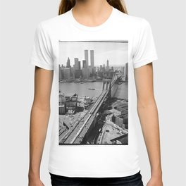 Looking NW Towards Manhattan / Twin Towers T-shirt