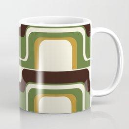 Mid-Century Modern Meets 1970's Green Coffee Mug