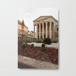 Public theater in Subotica, Serbia / Architecture / Color Metal Print