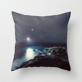 Mysterious Light Throw Pillow