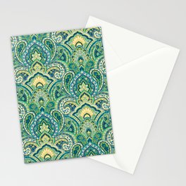 Paisley Style Stationery Cards