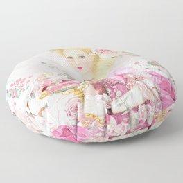 Marie Antoinette Flower Tea Floor Pillow