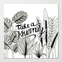 Take a journey Canvas Print