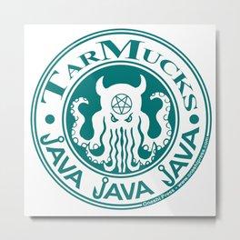 Tarmucks Java - Coporate Coffee House Franchise Metal Print