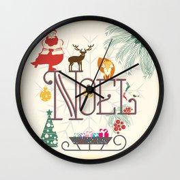 Christmas Noel Wall Clock
