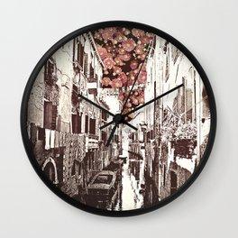 fiori di Venezia Wall Clock