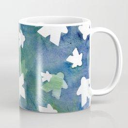 Meeples in Blue Coffee Mug