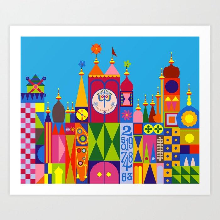 It's a Small World Kunstdrucke