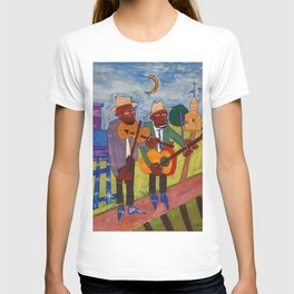 African American Masterpiece 'Sweet Adeline' by William Johnson T-shirt