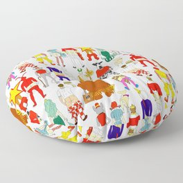 Fast Food Butts V2 Floor Pillow