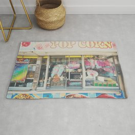Cotton Candy & carnival food ... Rug