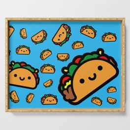 Happy Taco Serving Tray
