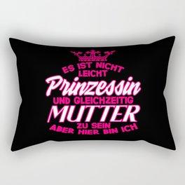 Es Ist Nicht Prinzessin Mutter Mom Mother's Day Rectangular Pillow