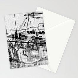 RF295 TOWN - S6 E Stationery Cards