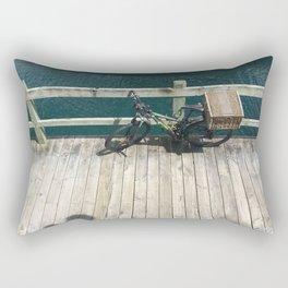 Marina Bicycle Rectangular Pillow