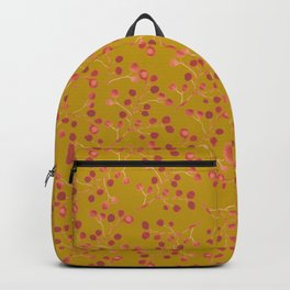 Watercolour hawthorns - pattern Backpack
