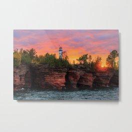 Devil's Island Lighthouse Metal Print