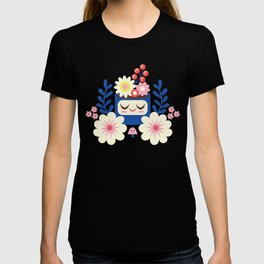 Spring Flower Planter / Yellow T-shirt
