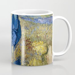Vincent van Gogh - Peasant woman binding sheaves, after Millet - Digital Remastered Edition Coffee Mug