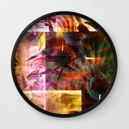"""UsingThe Right Angles 2"" Wall Clock"