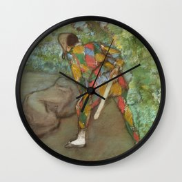 Alexander and Bucephalus (ca 1861-1862) painting in high resolution by Edgar Degas Wall Clock