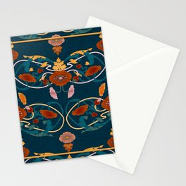 Art Nouveau Ornaments Stationery Cards