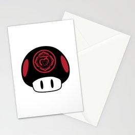 Root Chakra Mushroom Stationery Cards