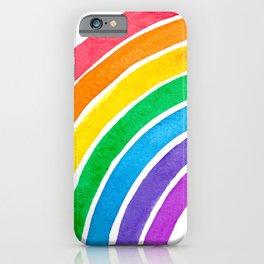 Watercolour Rainbow iPhone Case