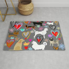 All dogs are beautiful Rug