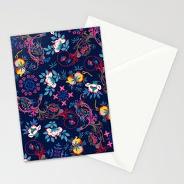 Victorian Midnight Stationery Cards