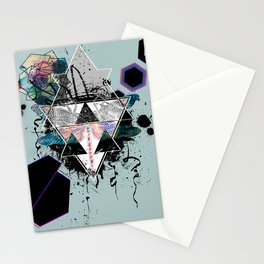 Modern Geometric Dragonfly v2 Stationery Cards