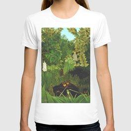 "Henri Rousseau ""Merry Jesters"" T-shirt"