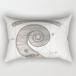 musical geometr.eye Rectangular Pillow