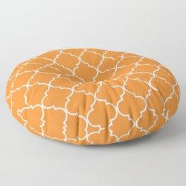 Quatrefoil - Apricot Floor Pillow