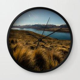 Lake Tekapo Wall Clock