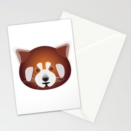 Red Panda,Cute Red Panda T-Shirt,Bear,Endangered Wildlife T-Shirt,Animal,Tees by © DAM Creative Stationery Cards