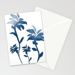 Painted Flowers Stationery Cards