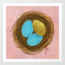 Nest Egg Art Print
