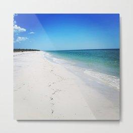 White Sands Sun Tans Metal Print