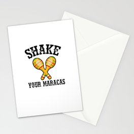 Shake Your Maracas Stationery Cards
