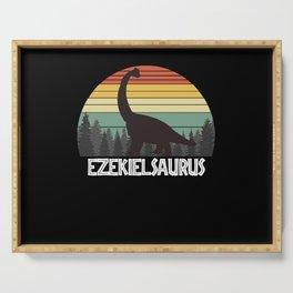 EZEKIELSAURUS EZEKIEL SAURUS EZEKIEL DINOSAUR Serving Tray
