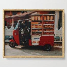 Tuk Tuk Breadmobile, Unawatuna, Sri Lanka  Serving Tray