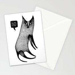 Slightly Grumpy Kitty Stationery Cards