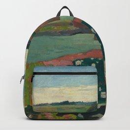 Paul Gauguin - Haystacks in Brittany Backpack