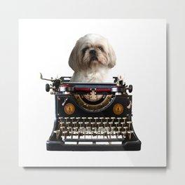 Top Model Paul Shih tzu Dog - Author Metal Print