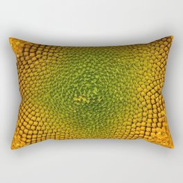 Sunny Flower Rectangular Pillow