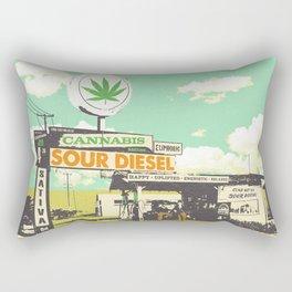 SOUR DIESEL Rectangular Pillow