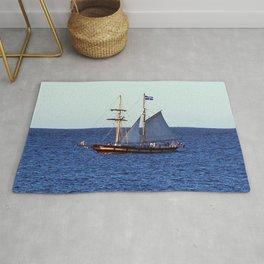 Quebec Sailboat Rug