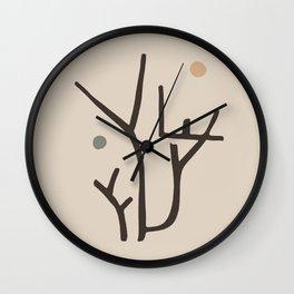 Modern poster Paul Klee - Park Bei Lu, 1938. Wall Clock
